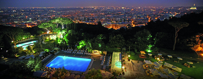 Hôtel Rome Cavalieri, Waldorf Astoria, Italie - Vue panoramique
