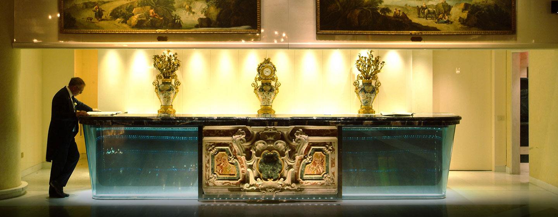 Hôtel Rome Cavalieri, Waldorf Astoria, Italie - Réception et concierge