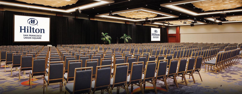 Hôtel Hilton San Francisco Union Square, CA - Salle de réception Continental