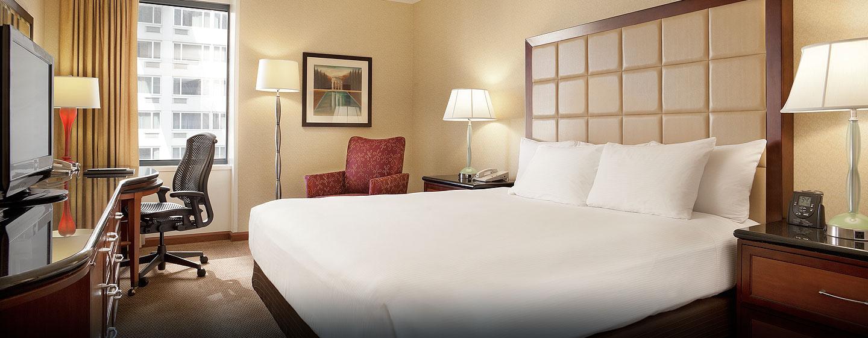 Hôtel Hilton San Francisco Union Square, CA - Chambre classique avec grand lit