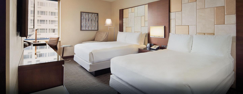 Hôtel Hilton San Francisco Union Square, CA - Chambre avec deux lits doubles