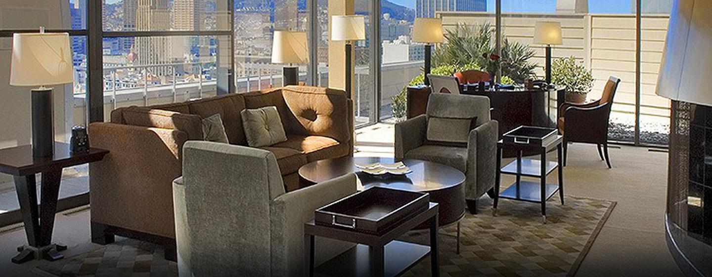 Hôtel Hilton San Francisco Union Square, CA - Solarium de la suite Impériale