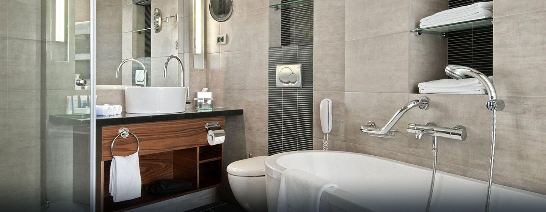 Hilton Tel Aviv, Israël - Salle de bains d'une chambre