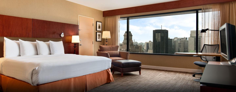Hôtel Hilton Toronto, ON, Canada - Chambre exécutive avec très grand lit
