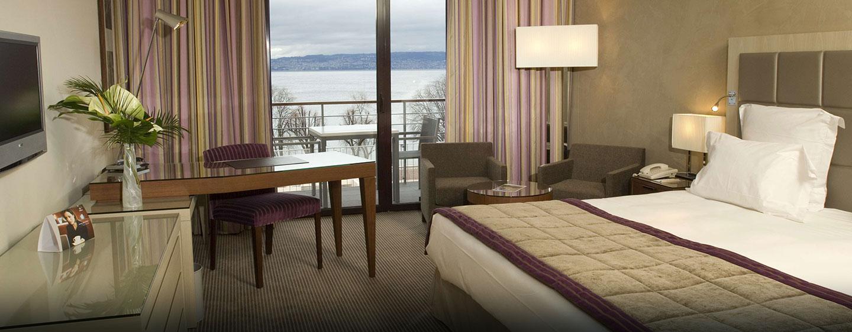 Hôtel Hilton Evian-les-Bains, France - Chambre de luxe Plus