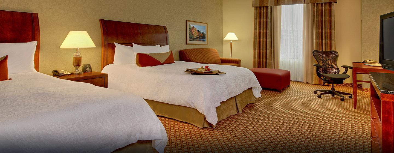 Hôtel Hilton Garden Inn Ottawa Airport, ON, Canada - Chambre double avec très grand lit
