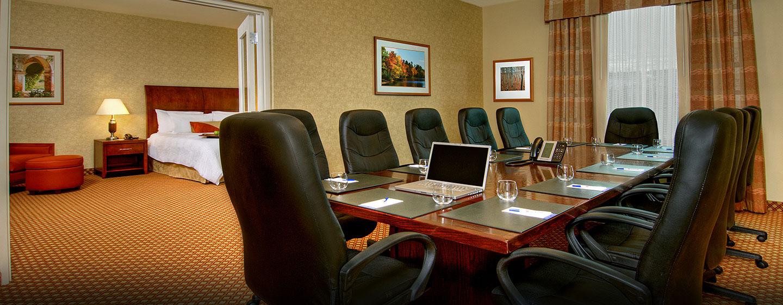 Hôtel Hilton Garden Inn Ottawa Airport, ON, Canada - Suite conférence