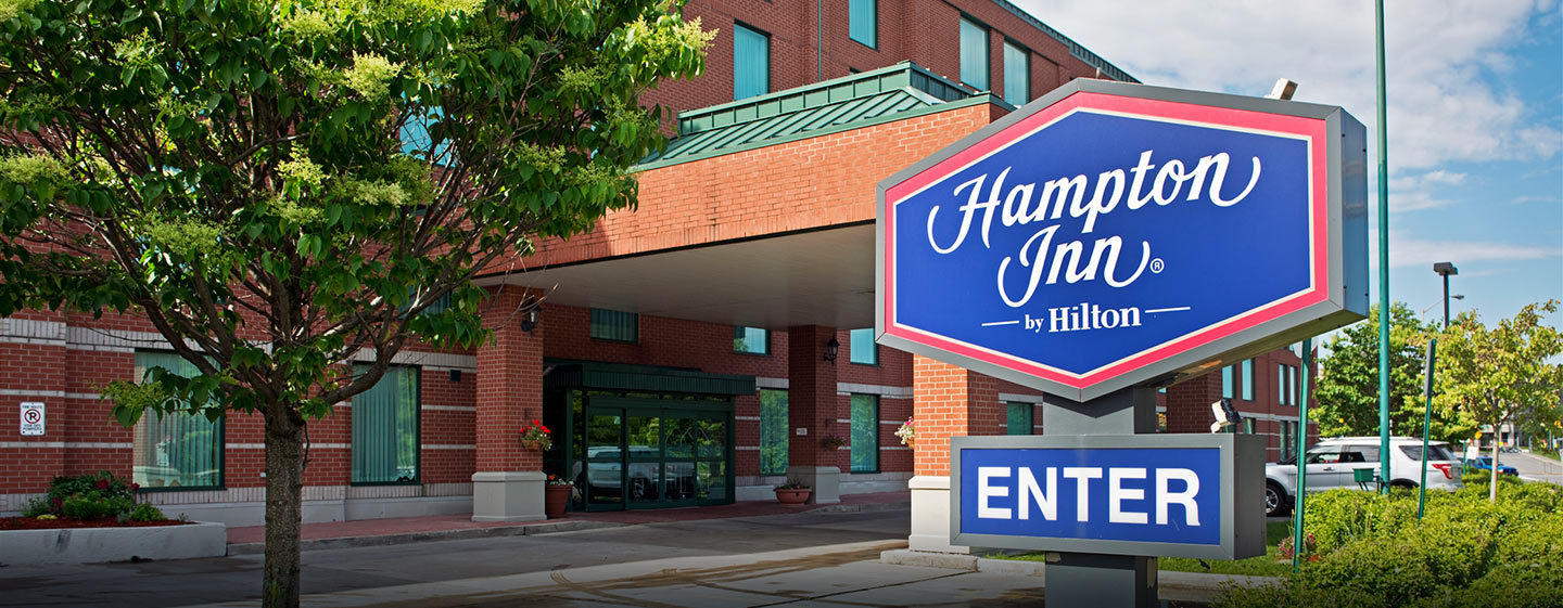 Hôtel Hampton Inn by Hilton Ottawa, ON, Canada - Bienvenue