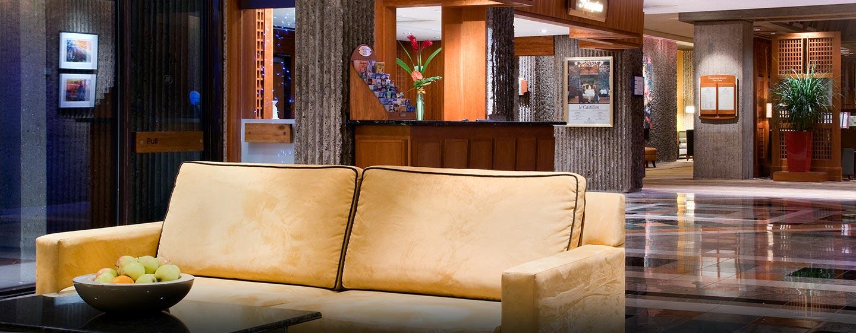 Hôtel Hilton Montreal Bonaventure, QC, Canada - Salon du hall