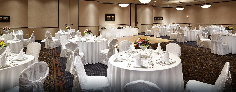 Hôtel Hampton Inn & Suites by Hilton Montreal-Dorval, Q.B., Canada - Mariage