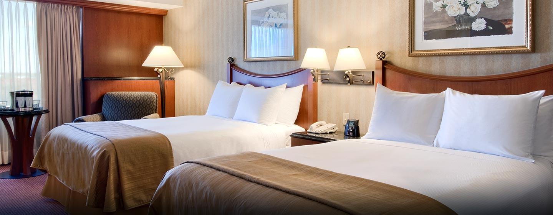 Hôtel Hilton Montreal-Laval, Canada - Chambre standard avec deux lits