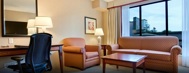 Hôtel Hilton Vancouver Airport, CB, Canada - Suite d'une chambre