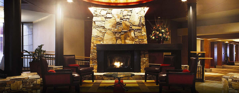 Hôtel Hilton Whistler Resort & Spa, CB - Magnifique hall