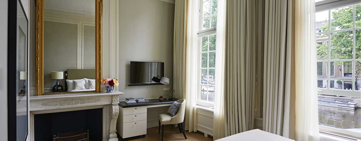 Waldorf Astoria Amsterdam hotel - Luxueuze accommodaties