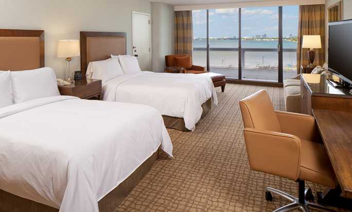 DoubleTree by Hilton Grand Hotel Biscayne Bay hotel, Miami - Two double beds