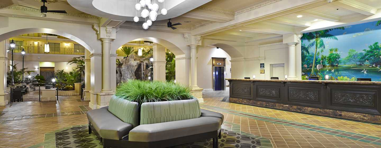 Embassy Suites Fort Lauderdale - 17th Street, USA - Lobby do hotel