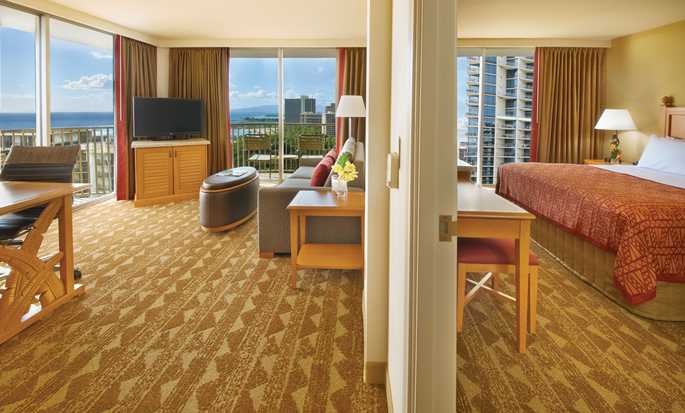 Embassy Suites Waikiki Beach Walk, Hawaii, USA - King suite
