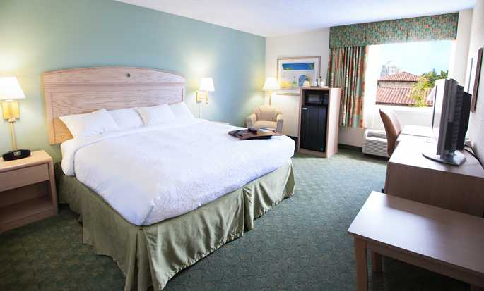 Hampton Inn Miami-Coconut Grove/Coral Gables hotel, Coconut Grove, Florida, EUA - Quarto King