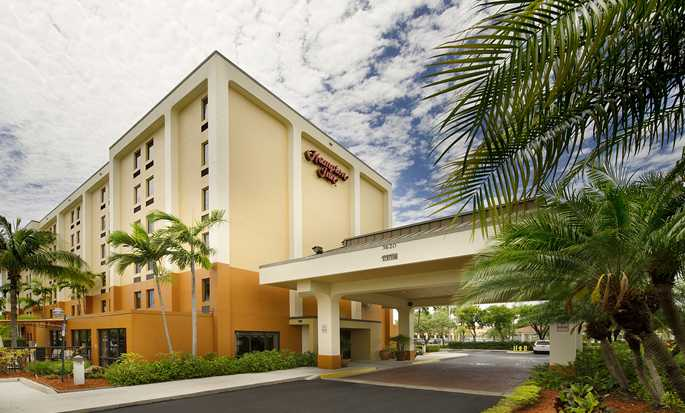 Hampton Inn Miami-Airport West, Doral, Flórida, EUA - Exterior do hotel