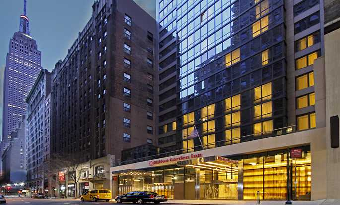 Hilton Garden Inn New York/Midtown Park Ave Hotel, EUA - Exterior do hotel