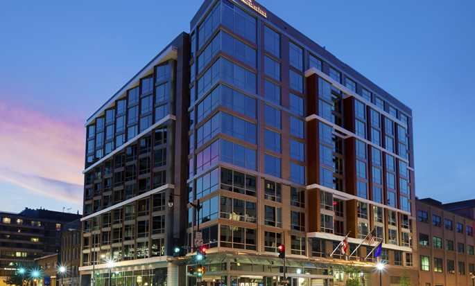 Hilton Garden Inn Washington DC/Georgetown hotel, EUA - Exterior do hotel