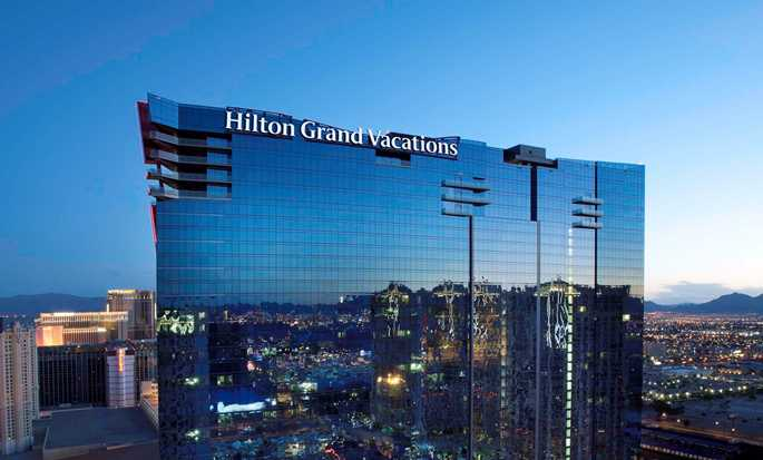 Elara, a Hilton Grand Vacations Hotel-Center Strip, NV - Elara at Night