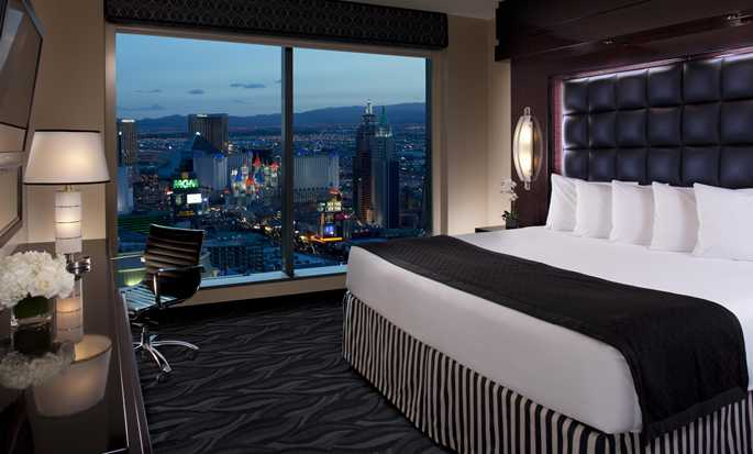 Elara, a Hilton Grand Vacations Hotel-Center Strip, NV - Studio with floor-to-ceiling window