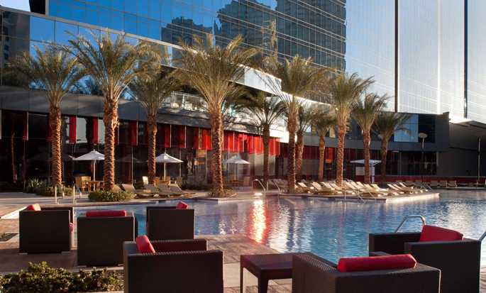 Elara, a Hilton Grand Vacations Hotel-Center Strip, NV - Exterior with Outdoor Pool