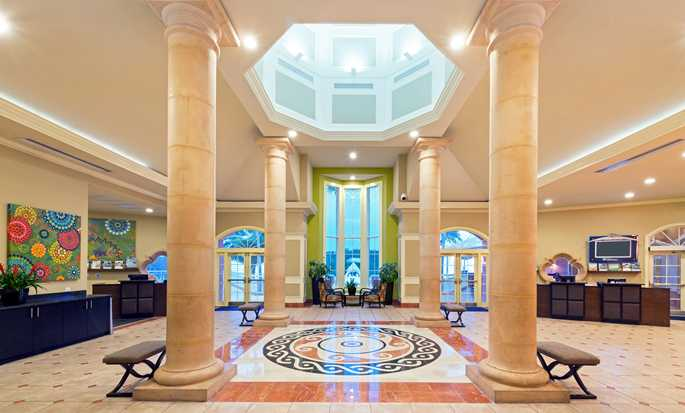 Hilton Grand Vacations at SeaWorld hotel, Orlando - Somptuous lobby