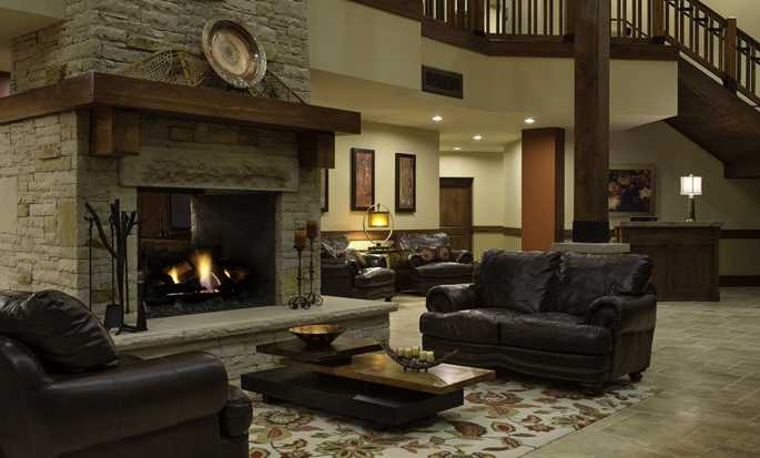 Sunrise Lodge, Hilton Grand Vacations, Utah, USA - Lobby