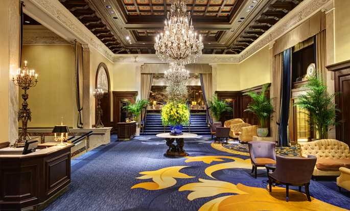 The Drake Hotel, Chicago, USA - Hotel lobby