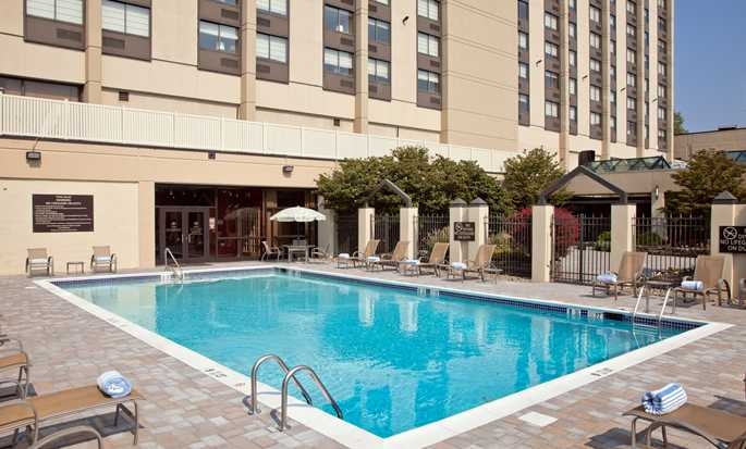 Hilton Hasbrouck Heights/Meadowlands, New Jersey, USA - Pool