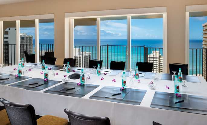 Hilton Waikiki Beach hotel, Hawaii, U.S. - Altitude Meeting Room
