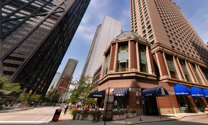 Hilton Chicago Magnificent Mile Suites Hotel, EUA - Exterior do hotel