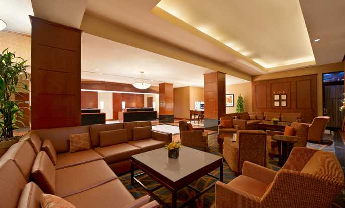Hilton Chicago Magnificent Mile Suites Hotel, EUA - Lobby