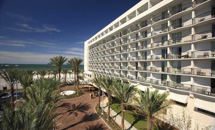 Hilton Clearwater Beach hotel, Fla. - Hotel Exterior
