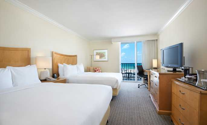 Hilton Clearwater Beach hotel, Fla. - Two Beds Room w/ Coast View