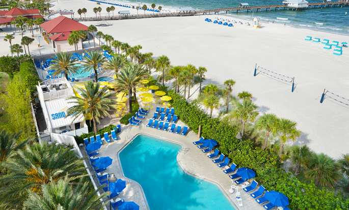 Hilton Clearwater Beach hotel, Fla. - Pool