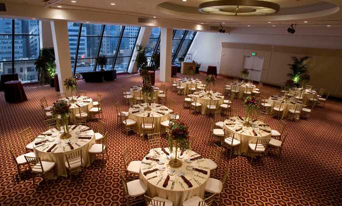 Hilton San Francisco Financial District hotel - Ballroom