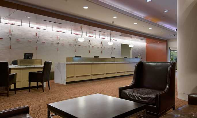 Hilton San Francisco Financial District hotel - Lobby and reception