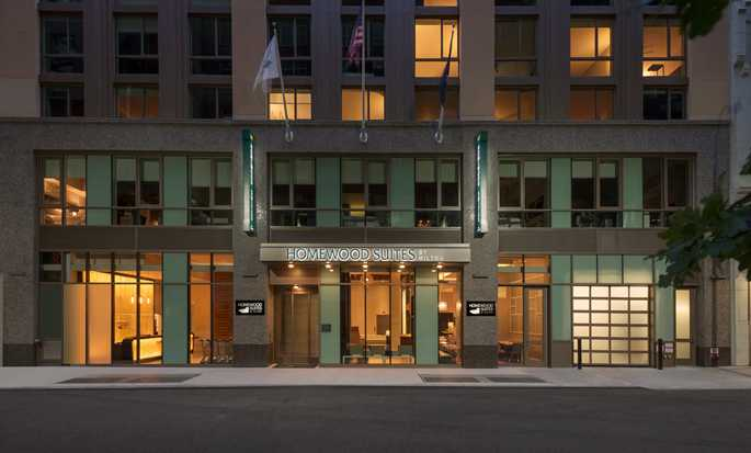 Homewood Suites by Hilton New York/Midtown Manhattan Times Square-South, NY, hotel, EUA - Exterior do hotel