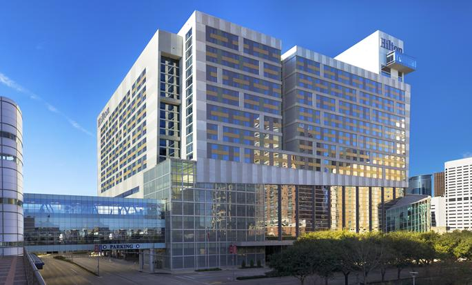 Hilton Americas-Houston, Texas, USA - Hotel exterior