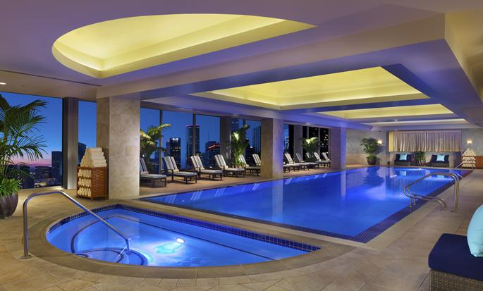 Hilton Americas-Houston, Texas, USA - Indoor pool