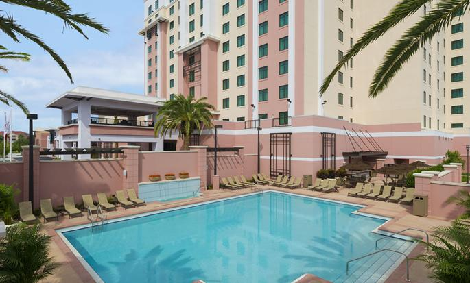 Embassy Suites Orlando – Lake Buena Vista South, FL - Outdoor pool