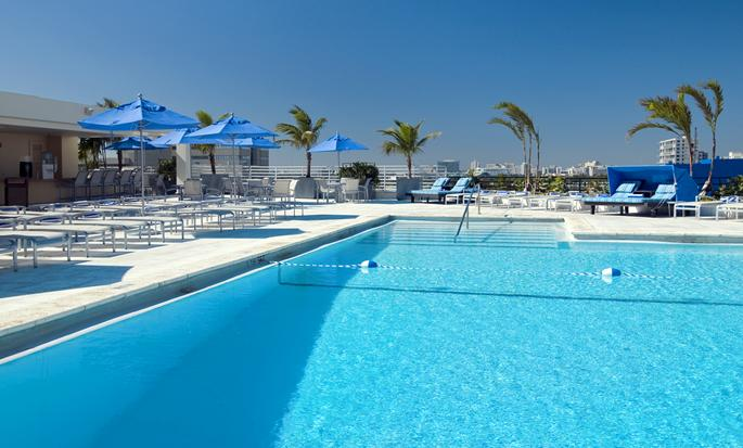Hilton Miami Downtown Hotel, USA - Outdoor Pool