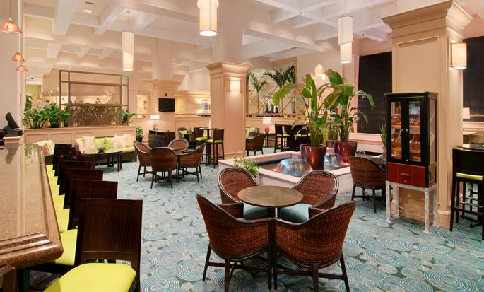 Hilton Miami Downtown Hotel, USA - Lobby Lounge
