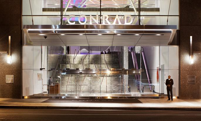 Conrad New York Hotel, USA - Hotel Entrance