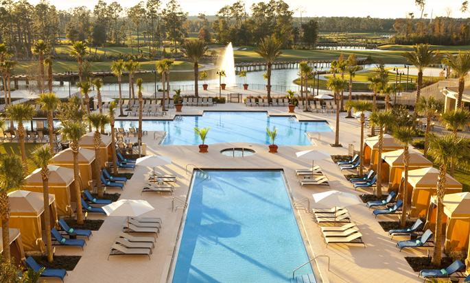 Waldorf Astoria Orlando hotel FL,USA - Outdoor pool