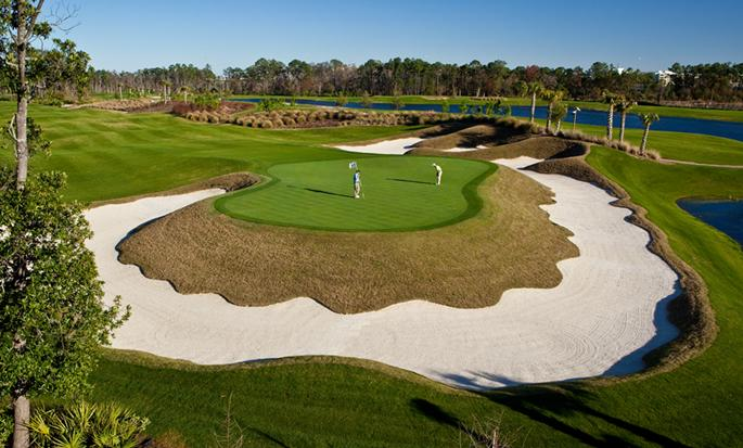 Waldorf Astoria Orlando hotel FL,USA - Golf course