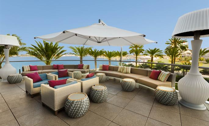 Hilton San Diego Bayfront, California USA - Patio
